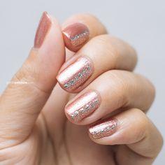 Julep Pink Bubbly Tutorial | Petite Peinture #sephoranailspotting #julep #glitter #newyearseve #nailart #notd @julepmaven