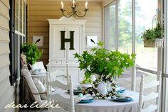 Porch Decor 30 Perfect Porches - The Cottage Market