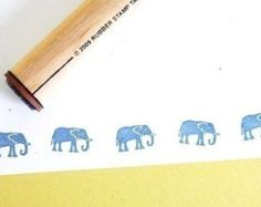 Mama Elephant Rubber Stamp