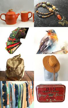Orange Pekoe  by Anne on Etsy--Pinned with TreasuryPin.com