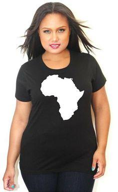 Africa Crew Neck Tee Shirt -