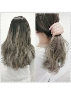 黒髪グラデーションカラーは毛先・アッシュが決め手【ミディアム・ボブ・ロング】に投稿された画像No.71