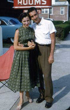 Cute couple, 1957