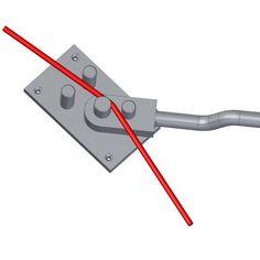 ow to use rebar bending tool - Forging Tools, Blacksmith Tools, Blacksmith Projects, Metal Bending Tools, Metal Working Tools, Metal Tools, Metal Projects, Welding Projects, Metal Crafts