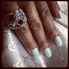 Essie Mint Candy Apple... Gorgeous for Winter or any time of year.