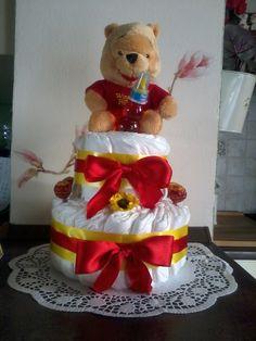 torta di pannolini di winnie con ciupa ciupa )