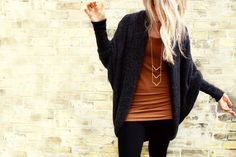 This would be a perfect outfit for work in the winter :)
