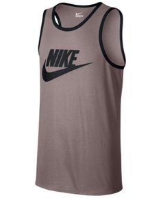 aa922ba6b05 Nike Men's Ace Logo Graphic Tank - Pink L Athletic Tank Tops, Nike Tank Tops