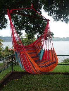 Hammock Swing Backyard Hammock, Hammock Swing Chair, Pergola Swing, Metal Pergola, Diy Pergola, Pergola Kits, Pergola Ideas, Hammock Ideas, Pergola Cover