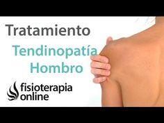 Ejercicios y automasajes para la tendinitis y el dolor de hombro