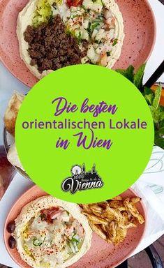 Wenn du auf orientalische Küche stehst, dann sind diese Lokale in Wien perfekt für dich. Von Hummus, über Falafel und Co erzählen wir euch bei den besten orientalischen Restaurants in Wien. Falafel, Restaurant Bar, Hummus, Austria, Lunch, Beef, Restaurants, Cooking, Ethnic Recipes