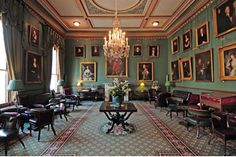 The Garrick Club, London.  Founded in 1831 by a group of literary gentlemen under the patronage of the King's brother, the egalitarian Duke of Sussex.  garrickclub.co.uk