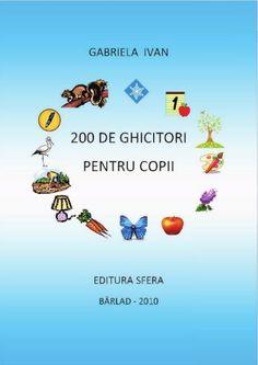 fileshare_200 de ghicitori pentru copii.pdf Experiment, Teacher Supplies, Kids Education, Preschool Activities, Montessori, Diy And Crafts, Parenting, Erika, Calculator