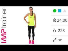 Fitness a Casa! 22 Minuti Di Allenamento Total Body a circuito - YouTube