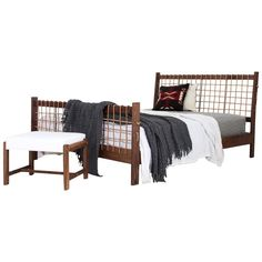 Law Bed   From a unique collection of antique and modern bedroom furniture at https://www.1stdibs.com/furniture/more-furniture-collectibles/bedroom-furniture/