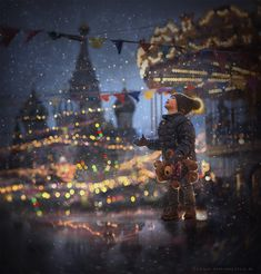 Xmas market on Red Square. by Elena Shumilova on 500px