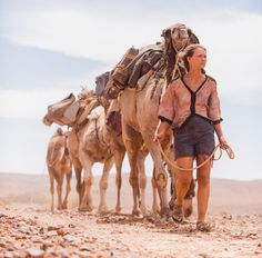 Tracks-- the 2013 Australian drama film directed by John Curran and starring Mia Wasikowska and Adam Driver. It is an adaptation of Robyn Davidson's memoir of the same name, chronicling the author's 1,700-mile trek across the deserts of West Australia with four camels and her dog.