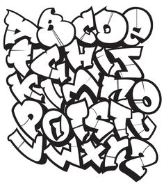 Street Alphabet Competition: design entry by Aftor Graffiti Alphabet Styles, Graffiti Lettering Alphabet, Graffiti Text, Tattoo Lettering Fonts, Best Graffiti, Graffiti Characters, Graffiti Tagging, Graffiti Drawing, Graffiti Styles