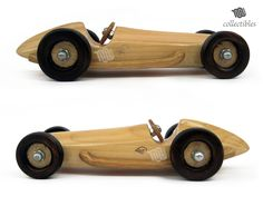 Mercedes Benz W 154 Mini wood replica collectible