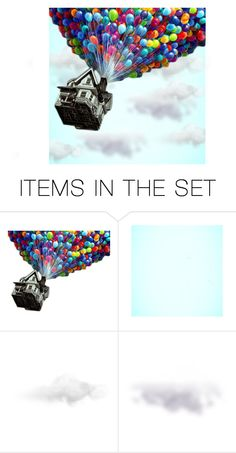 """up up and away"" by juliehalloran ❤ liked on Polyvore featuring art"