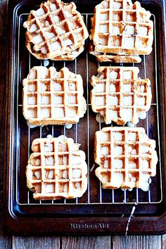 Sugar Cookie Waffles| heathersfrenchpress.com #nationalsugarcookieday