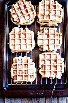 Sugar Cookie Waffles| heathersfrenchpress.com #nationalsugarcookieday