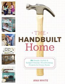 The Handbuilt Home - 34 Simple Stylish and Budget-Friendly Woodworking Projects for Every Room by Ana White. Buy this eBook on #Kobo: http://www.kobobooks.com/ebook/The-Handbuilt-Home/book-3z1BE_GCxUqiKuXLlbPezQ/page1.html?s=sxXLJtagOkyLqra9YYvn2g=1