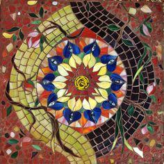 #23 Third Chakra - Manipura, Mosaic Labyrinth, 23/52