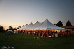 High Point has an extensive line of tent rental options and is sure to have something to accommodate your group and venue. Bring the outdoors in - we can heat and cool our tents and side walls can be put up as well. No matter what the weather or the season, we have you covered (literally!).