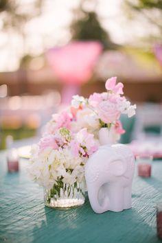 Arizona Wedding from Gina Meola + Ashley Gain Weddings & Events Read more - elephantcenterpieces Romantic Wedding Colors, Floral Wedding, Perfect Wedding, Wedding Flowers, Dream Wedding, Wedding Things, Diy Wedding Decorations, Reception Decorations, Wedding Centerpieces