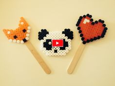 Un vídeo sobre cómo hacer figuras con hama beads. Espero que te guste! #hamabeads #figuras #manualidades