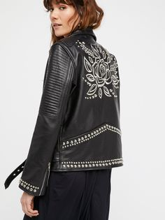Understated Leather Sweet Paradise Jacket at Free People Clothing Boutique
