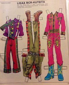 Eric's clothes 70's