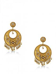 Koovs for Women - Buy Online Women Koovs in India at Koovs Earrings Online, Indian Jewelry, Ethnic, Crochet Earrings, Hoop Earrings, Stuff To Buy, Earrings