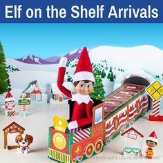 Elf arrival ideas   Elf return ideas   Elves coming back! Reindeer Names, Elf Names, Reindeer Food, Elves At Play, Play Stick, Printable Crafts, Free Printables, Elf Pets, Mini Candy Canes