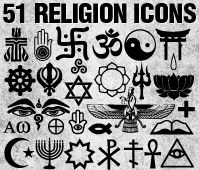 Religion symbols, people with different religions should stop fighting each other, i mean a symbol/belief is what is separating/keeping us from being peaceful