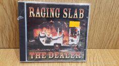 RAGING SLAB. THE DEALER. CD / TEE PEE RECORDS - 2001.16 TEMAS / PRECINTADO / DIFÍCIL.
