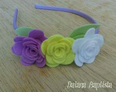 Felt Headband, Headbands, Felt Flowers, Baby Accessories, Preschool Crafts, Felt Crafts, Hair Bows, Hair Clips, Sewing Projects
