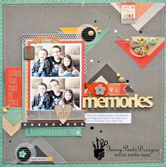 Image result for fancy pants be you scrapbook layouts