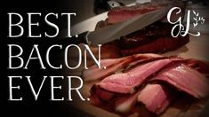 How to make Bacon. Bacon is easy! Join us as we make our own bacon at home. You can make the best bacon ever. How To Make Bacon, Best Bacon, Grilling, The Cure, Spices, Smokehouse, Make It Yourself, Raising, Easy