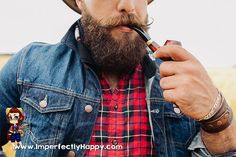 Make Your Own Beard Balm with Only 3 Awesome Ingredients! | ImperfectlyHappy.com