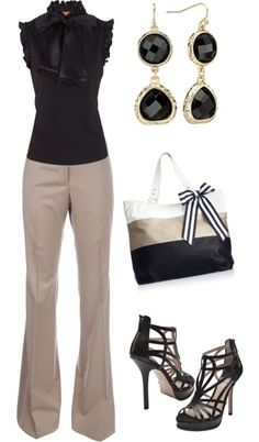 Professional work outfits for women ideas 55 - Fashionetter