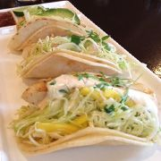 All California ingredients. Fish+tacos+with+avocado+and+mango+slaw.  So delicious!