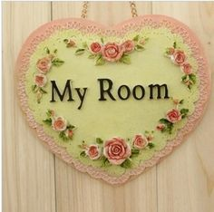 Supernova sale Derlook shingle heart welcome home accessories my room decoration resin Home decorations