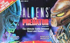 Alien vs Predator linea di giocattoli horror della Kenner