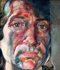 Michael Taylor - Self Portrait, 1991 (British: Advanced Higher Art, Film D'animation, A Level Art, Identity Art, High Art, Illustrations, Watercolor Portraits, Portrait Inspiration, Portrait Art