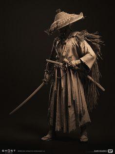 Ronin Samurai, Samurai Warrior, Sketch Inspiration, Character Inspiration, Martial, Sword Poses, Medieval, Arte Ninja, Samurai Artwork