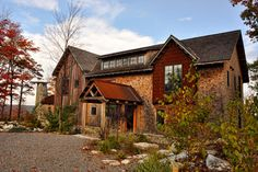 North Camp - rustic - Exterior - Baltimore - Gosnell Builders Rustic Exterior, Baltimore, Camping, House Styles, Home Decor, Campsite, Decoration Home, Rustic Outdoor, Room Decor