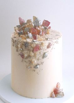 Crystal Gemstone Candy Cake