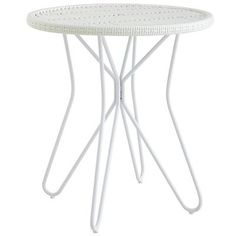 Willow Accent Table - White